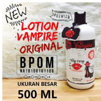 HAND AND BODY - LOTION PEMUTIH - LOTION VAMPIRE BOTOL BESAR ISI 500 ML
