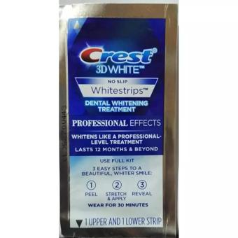 Harga Crest 3D Whitestrips Professional Effects 1 treatment