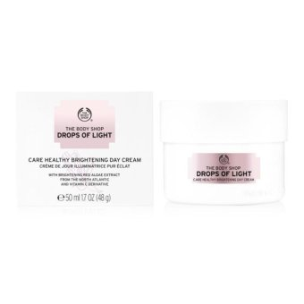 Harga The Body Shop Drops Of Light Brightening Day Cream 50ml