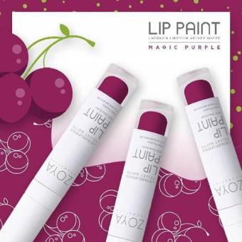 Harga Lip Matte Zoya Magic Purple
