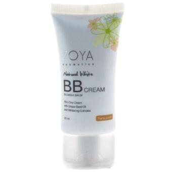 Harga BB Cream Zoya Translucent