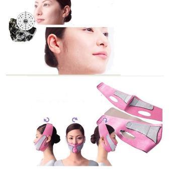 Hight Quality Store New Anti Wrinkle V Face Line Belt Strap Slim Mask Orange red