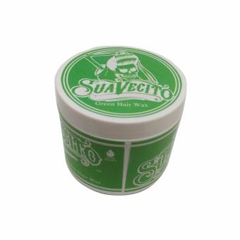 Harga Suavecito Pomade Colouring Wax Hair Colour Green - Free Comb