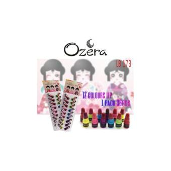 Harga Lipstik MINI LUCU Cute Doll BPOM By Ozera - 12 Pcs