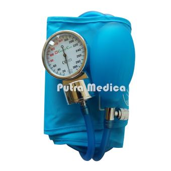 Harga General Care Tensi Jarum / Aneroid Transparan - Sky Blue