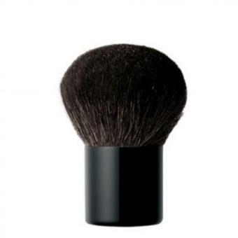 Mesh Kuas Powder Foundation Makeup Brush Black Blush On