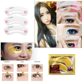Collagen Lip Mask Masker Bibir 10 Pcs Mini Cetakan Alis Brow Class 2 Source · JBS