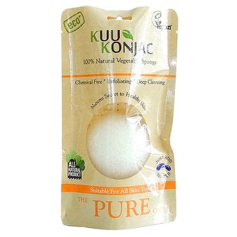 Harga KUU Konjac Sponge Deep Cleansing 100% Natural