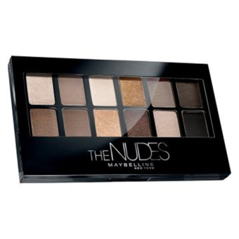 Harga Maybelline The Nudes Eyeshadow Palette - Hitam