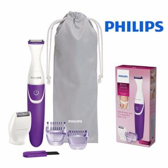 Harga Philips BikiniGenie Wet & Dry Bikini Trimmer Battery Powered