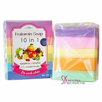 Harga Fruitamin Soap 10 in 1 by Wink White - 100gr