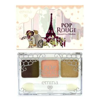 Harga Emina Pop Rouge Pressed Eye Shadow - Gelato