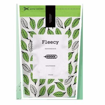 Harga Fleecy Face and Body Scrub Green Tea