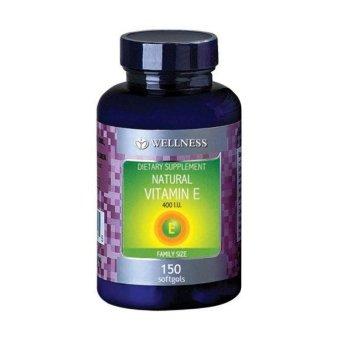 Wellness Natural Vitamin E-400 I.U (150 Softgel)