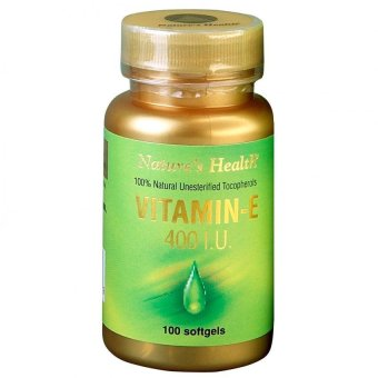 Harga Natural Health Vitamn E 400iu 100s