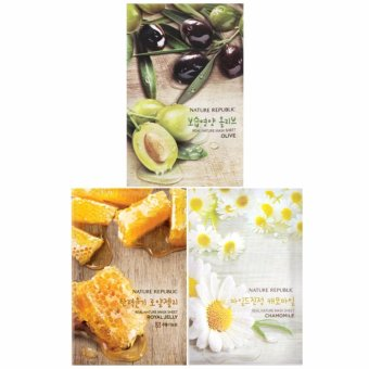Harga Nature Republic - Real Nature Mask Sheet - Bundle B