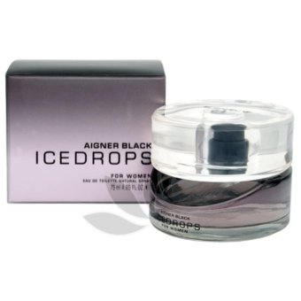 Harga AIGNER BLACK ICEDROPS WOMEN 75 ML EDT
