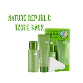 Harga NATURE REPUBLIC Bamboo Charcoal Nose & T-Zone Pack