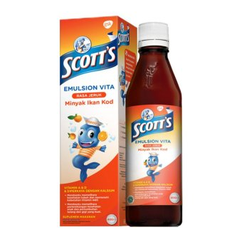 Harga Scotts Emulsion Vita 400ml