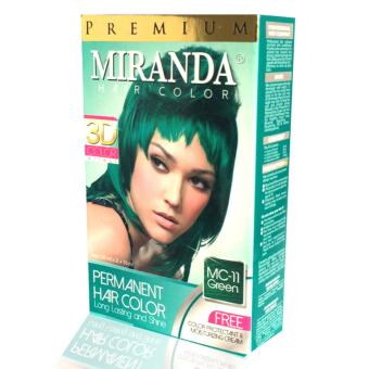 Harga Miranda Hair Color - MC 11 Green