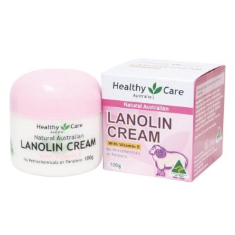 Harga Healthy Care Natural Lanolin Vitamin E Cream 100g Melembabkan Kulit