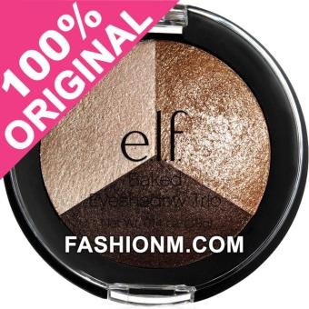 Harga Elf Baked Eyeshadow Trio - Brown Bonanza