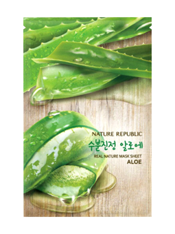 Harga Nature Republic Real Nature Mask Sheet (Aloe)