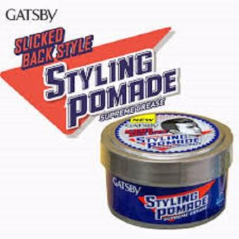 Harga Gatsby Styling Pomade Supreme Grease Slicked Back Style - 80 gr