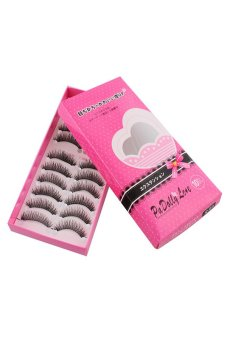 Harga Thick Cross Handmade False Eyelashes
