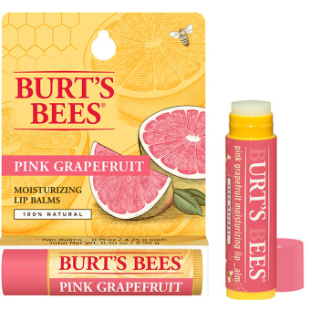 Harga Burt's and Bees Lip Balm Pink Grapefruit