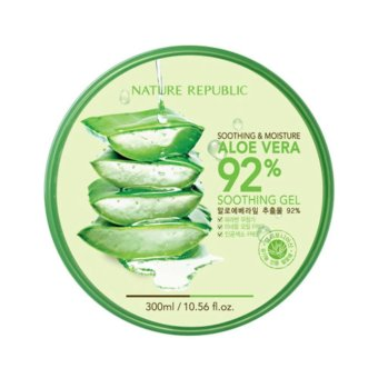 Harga Nature Republic Aloe Vera 92% Shooting Gel 100% Original Korea
