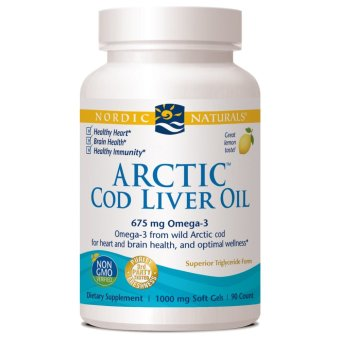 Harga Nordic Arctic COD Liver Oil Softgel (Softgel) isi 90 softgel