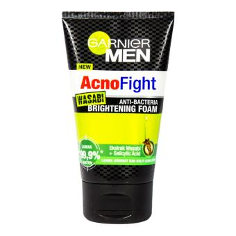 Harga Garnier Men Acno Fight Wasabi Foam 100 M