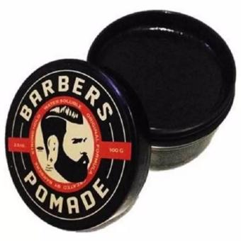 Harga Barbers Pomade Strong Hold Waterbased 100 Gram