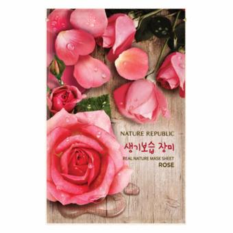 Harga Nature Republic Mask Sheet Rose 23ml