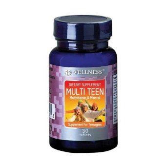 Harga Wellness Multi Teen (30 Tabs)