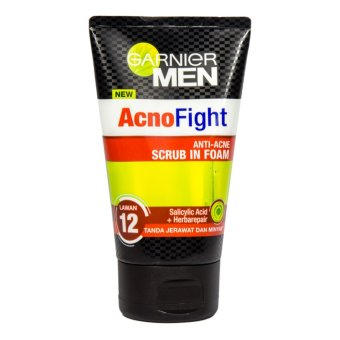 Harga Garnier Men Acno Fight Anti Acne Foam 100 M