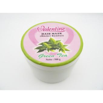 Harga Valentine Hair Mask Green Tea 500gr