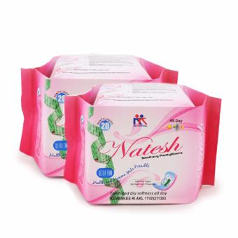 Harga Natesh Pantyliner- Ultra Thin (2 Pack)