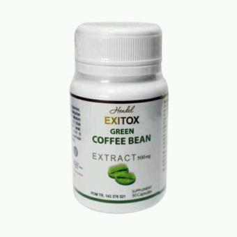 Harga Exitox Green Coffee Bean