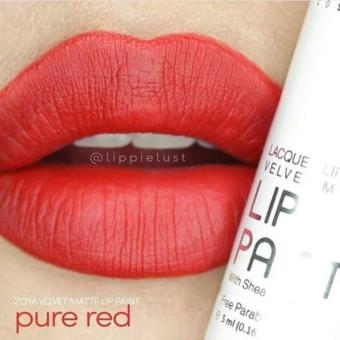 Harga Zoya Lip Paint Pure Red