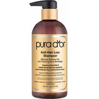 Harga Pura d'or Anti Hairloss Shampoo Gold. Anti Rontok