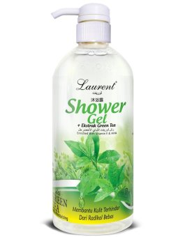 Harga Laurent Shower Gel Green Tea - 1L