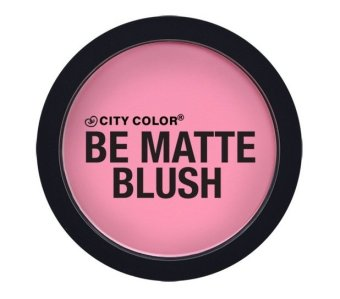 City Color Cosmetics Be Matte Blush - Pink Grapefruit