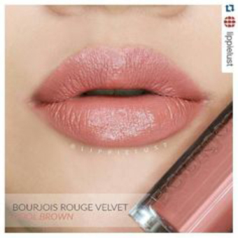 Harga Bourjois Rouge Velvet #17 Cool Brown