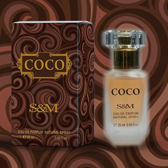 Harga S&M COCO (25ml) - Oriental/spicy, chocolate, fruity-aromatic