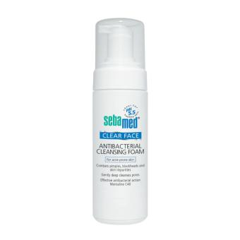 Harga Sebamed Clearface Antibacterial Cleansing Foam