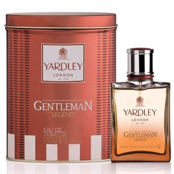 Harga Yardley Gentleman Legend Edt 100ml