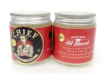 Harga Pomade Chief Red Oilbased Waxbased 3.5 oz 105 ml