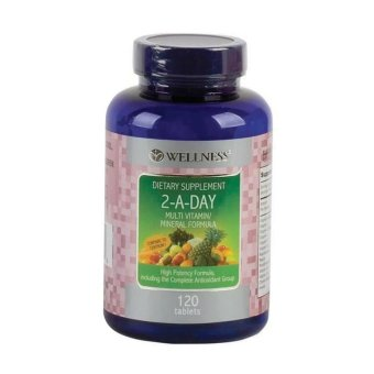 Harga Wellness 2-A-DAY - Multivitamin/Mineral